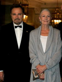 Franco Nero and Vanessa Redgrave at the Gala Spa Awards 2008.