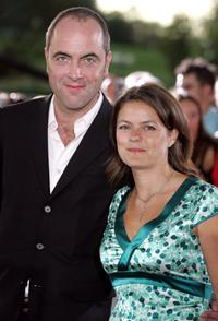 James Nesbitt and Guest at the GBR: The All-Star Cup Gala Dinner.