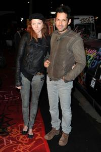 Lily Cole and Enrique Murciano at the premiere of