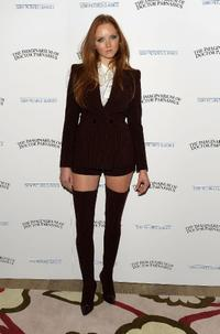 Lily Cole at the premiere of