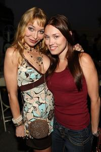 Lorielle New and Clare Grant at the opening night of