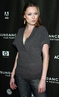 Clare Grant at the premiere of