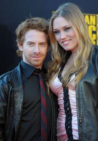 Seth Green and Clare Grant at the 2009 American Music Awards.