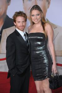 Seth Green and Clare Grant at the premiere of