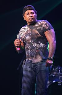 Aaron Neville at the