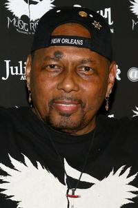 Aaron Neville at the Icons of Music II Auction.