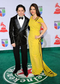 Gustavo Dudamel and Guest at the 12th Annual Latin GRAMMY Awards in in Las Vegas.