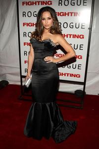 Zulay Henao at the premiere of