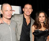 Director Dito Montiel, Channing Tatum and Zulay Henao at the premiere of