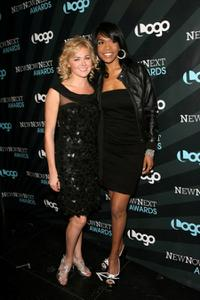Laura Bell Bundy and Michelle Williams at the 2008 NewNowNext Awards.