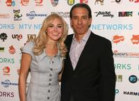 Laura Bell Bundy and Van Toffler at the MTV Networks Upfront.
