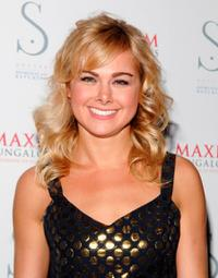 Laura Bell Bundy at the Maxim Bungalows hosts launch party.