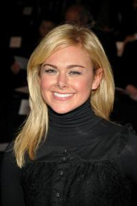 Laura Bell Bundy at the Mercedes-Benz Fashion Week Fall 2008.