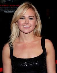 Laura Bell Bundy at the New York premiere of