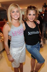 Laura Bell Bundy and Orfeh at the