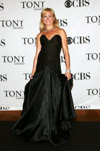 Laura Bell Bundy at the 62nd Annual Tony Awards.