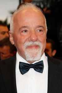 Paulo Coelho at the Cannes premiere of