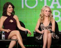 Shiri Appleby and Brittany Robertson at the 2010 Winter TCA Tour.
