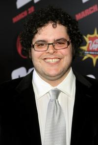 Josh Gad at the premiere of