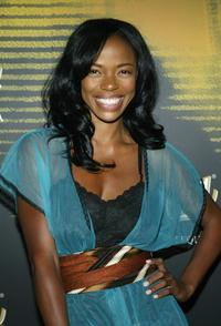 Jill Marie Jones at the launch of Sauza's new cocktail the