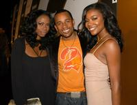Jill Marie Jones, Hill Harper and Gabrielle Union at the Entertainment Weekly Emmy Pre-Party.