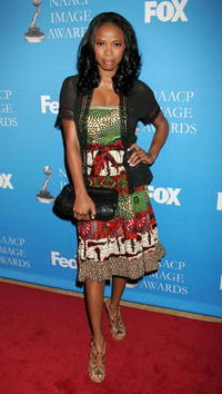 Jill Marie Jones at the 37th NAACP Image Awards.