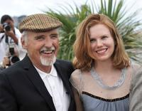 Dennis Hopper and Shanyn Leigh at the photocall of