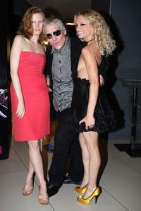 Shanyn Leigh, Abel Ferrara and Justine Mattera at the premiere of