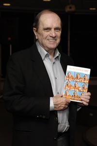 Bob Newhart signing copies of his book