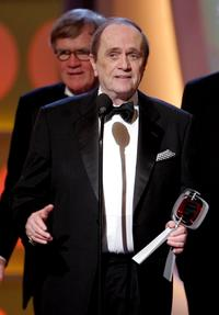 Bob Newhart at the Icon Award onstage at the 2005 TV Land Awards.