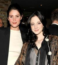 Gemma Arterton and Andrea Riseborough at the premiere of