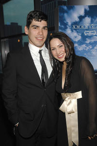 Raul Castillo and Jennifer Pena at the premiere of