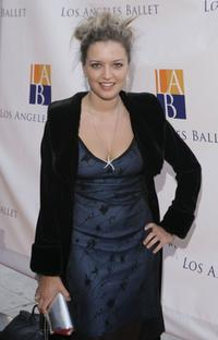 Lauren Storm at the Los Angeles Ballet's Debut of