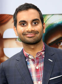 Aziz Ansari at the New York premiere of