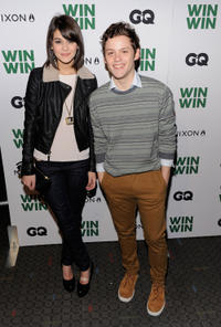 Sofia Black and James Newman at the New York screening of