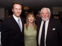 Steven Weber, Laraine Newman and Bernie Brillstein at the first-annual