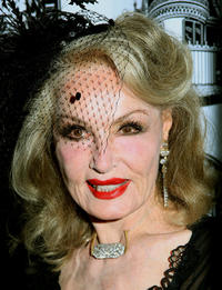 Julie Newmar at the 40th Annual Academy Of Magical Arts Awards in California.