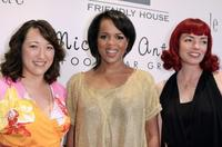 Maria Rohoff, Paula Newsome and Liza Mae Carlin at the Mercedes Benz Fashion Show.