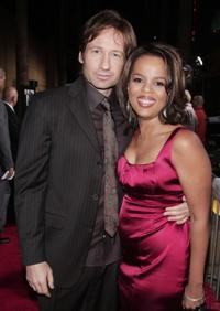 David Duchovny and Paula Newsome at the California premiere of