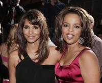 Halle Berry and Paula Newsome at the California premiere of