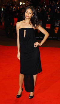 Thandie Newton at the 'The Orange British Academy Film Awards' in London.