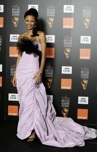 Thandie Newton at The Orange British Academy Film Awards in London, England.
