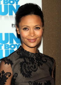 Actress Thandie Newton at the N.Y. premiere of