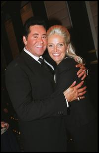 Wayne Newton and his wife Kathleen at the celebration of new deal with the Stardust Hotel.