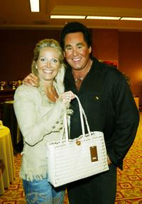 Wayne Newton and wife Kathleen with at the Academy of Country Music Awards Tempur-Pedic Talent Lodge.