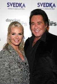 Wayne Newton and Kathleen Newton at the Dancing With The Stars Finale after party.
