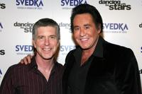 Wayne Newton and Tom Bergeron at the Dancing With The Stars Finale after party.