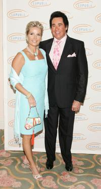 Wayne Newton and his wife Kathleen Newton at the Lupus LA Love Light And Laughter Gala.
