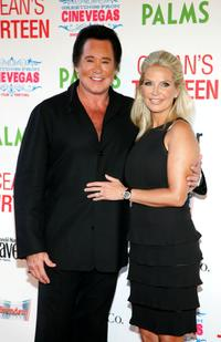 Wayne Newton and his wife Kathleen McCrone at the opening night screening of