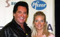 Wayne Newton and his wife at The 11th Annual Race to Erase MS.